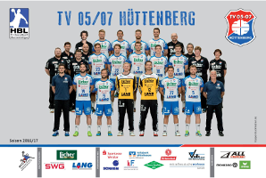 TV 05/07 Hüttenberg :: 2. Handball-Bundesliga